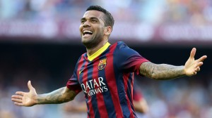 Dani Alves is a perfect example of a player that has the fitness to play wing-back.  Source: FC Barcelona